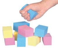 hand-exercisers-t-foam-visco-cubes